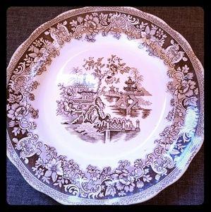 Accessories - SHANGHAI Engish Flow China Dinner Plate Antique